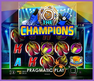 Les casinos Pragmatic Play lancent la machine à sous The Champions