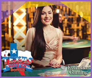 Evolution Gaming lance bientôt Live Texas Hold'em Bonus Poker