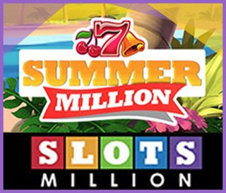 Gagnez des free spins avec Summer Million Giveaway de SlotsMillion