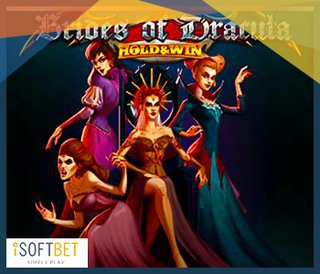Lancement du jeu Brides of Dracula Hold and Win