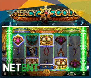 Nouvelle machine à sous Mercy Of The Gods de NetEnt
