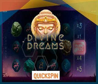 Nouvelle machine à sous Divine Dreams de Quickspin
