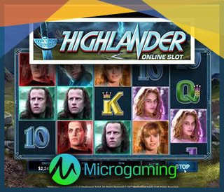 Nouvelle machine à sous Highlander sur les casinos Microgaming