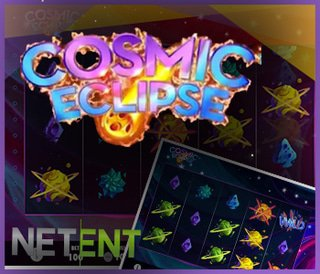 Nouvelle machine à sous Cosmic Eclipse sur les casinos NetEnt