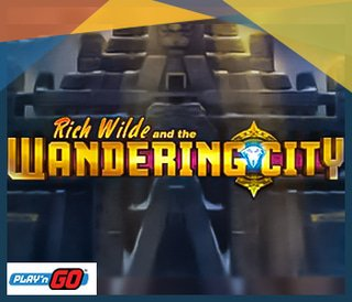 Jeu Rich Wilde and the Wandering City de Play'N Go