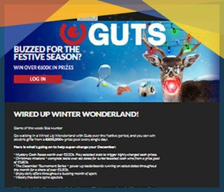 Promotion €600k Wired Up Winter Wonderland du casino Guts