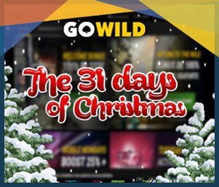 Promotion The 31 Days of Christmas du casino GoWild