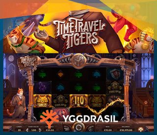 Yggdrasil Gaming Annonce Le Jeu De Casino Time Travel Tigers